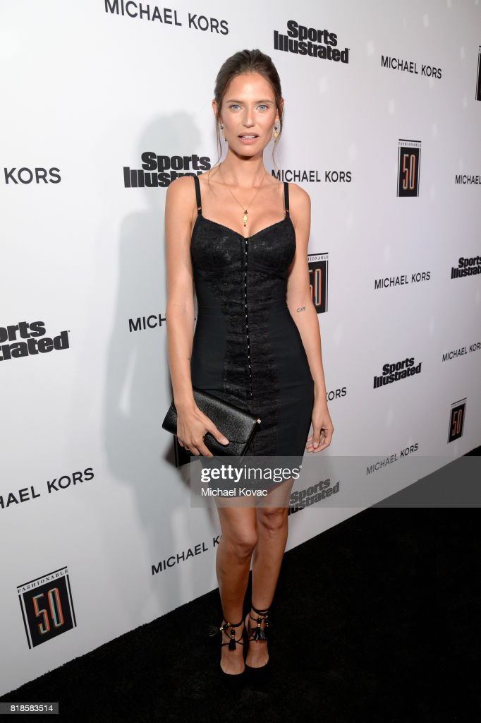 Bianca Balti at Sports Illustrated 2017 Fashionable 50 Celebration at Avenue on July 18, 2017 in Los Angeles, California.