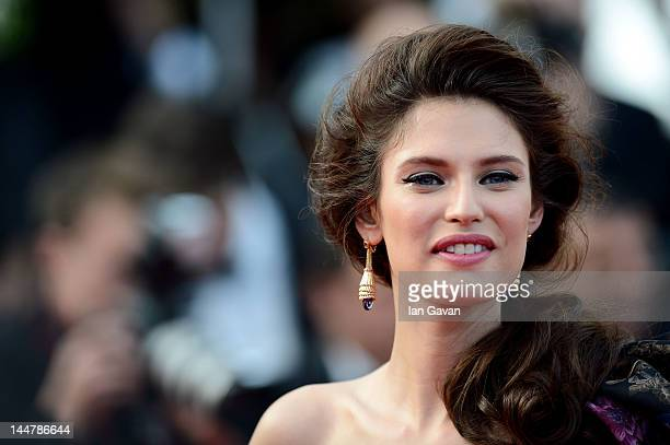 Bianca Balti attend the 'Lawless' Premiere during the 65th Annual Cannes Film Festival at Palais des Festivals on May 19 2012 in Cannes France