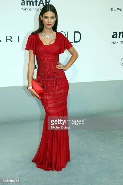 Bianca Balti attends amfAR's 21st Cinema Against AIDS Gala Presented By WORLDVIEW BOLD FILMS And BVLGARI at the 67th Annual Cannes Film Festival on...