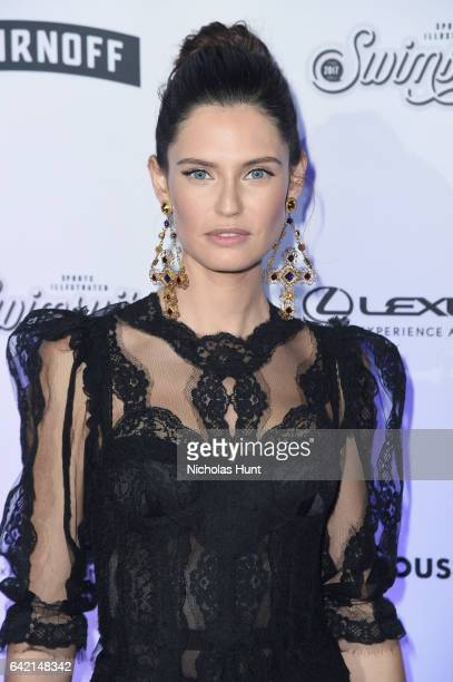 Bianca Balti attends Sports Illustrated Swimsuit 2017 NYC launch event at Center415 Event Space on February 16 2017 in New York City