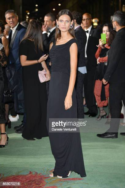 Bianca Balti attends the Green Carpet Fashion Awards Italia 2017 during Milan Fashion Week Spring/Summer 2018 on September 24 2017 in Milan Italy