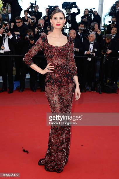 Bianca Balti attends the 'La Venus A La Fourrure' premiere during The 66th Annual Cannes Film Festival at the Palais des Festivals on May 25 2013 in...