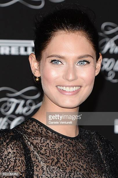 Bianca Balti attends the Pirelli Calendar 50th Anniversary Red Carpet on November 21 2013 in Milan Italy