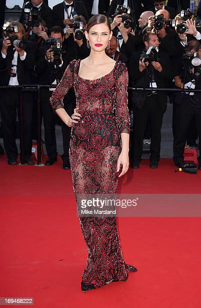 Bianca Balti attends the Premiere of 'La Venus A La Fourrure' at The 66th Annual Cannes Film Festival on May 25 2013 in Cannes France