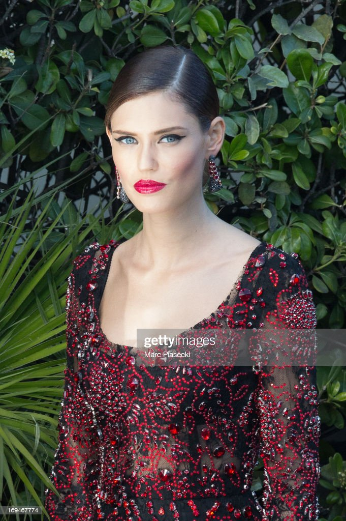 Bianca Balti is seen leaving the 'Grand Hyatt hotel Martinez Cannes' during the 66th Annual Cannes Film Festival on May 25, 2013 in Cannes, France.