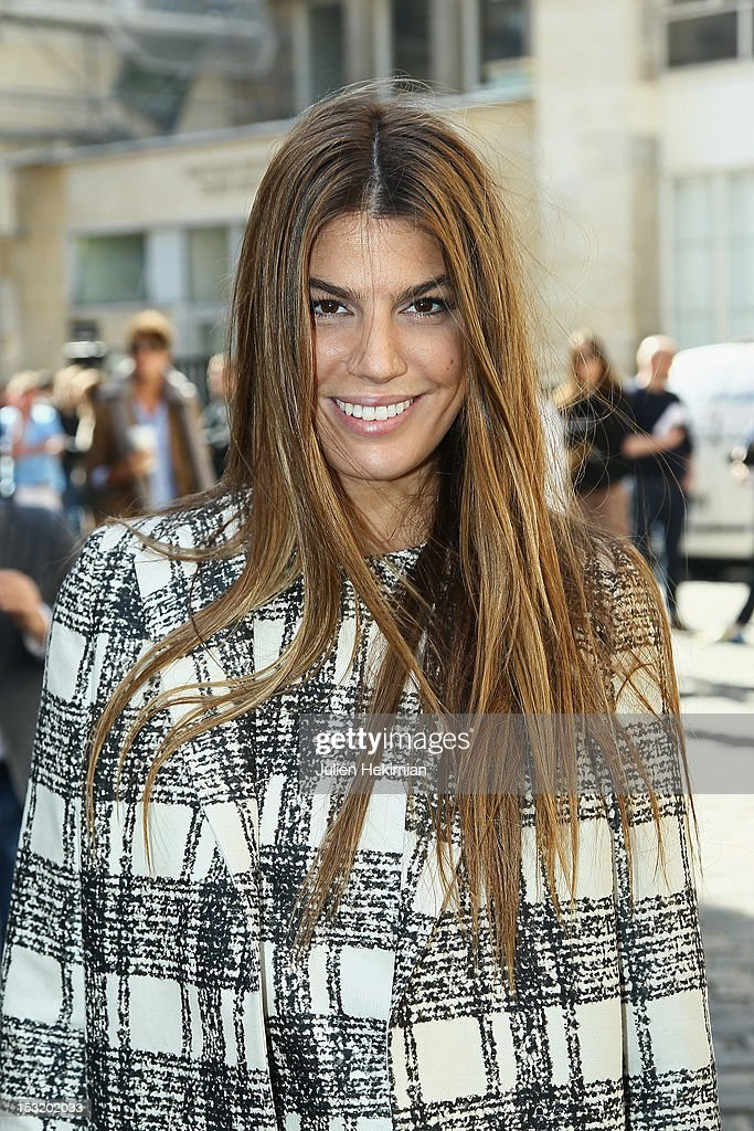 Bianca Brandolini D Adda attends the Giambattista Valli Spring / Summer 2013 show as part of Paris Fashion Week on October 1, 2012 in Paris, France.