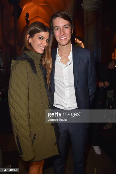 Bianca Brandolini D'Adda and Alexandre Arnault attend 'A Better High' Party as part of the Paris Fashion Week Womenswear Fall/Winter 2017/2018 at...