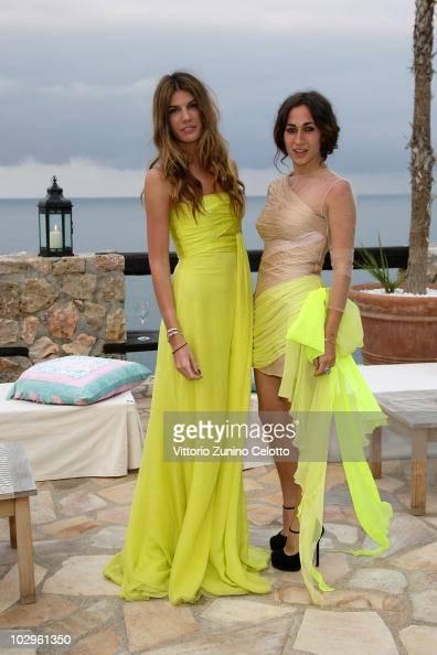 Bianca Brandolini D'Adda and Delfina Delettrez Fendi attend chapter 2 of Il Pellicano 'Globetrotters Reunion' held at Il Pellicano Hotel on June 12...