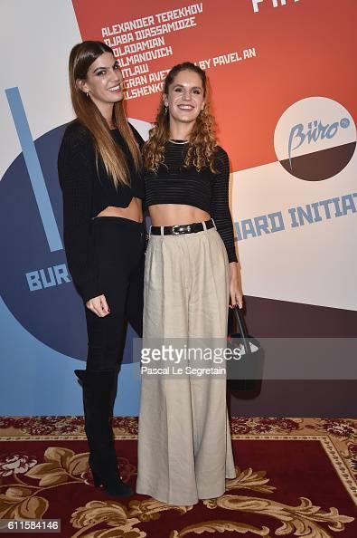 Bianca Brandolini d'Adda and Eugenie Niarchos attend Buro 24/7 Fashion Forward Initiative as part of Paris Fashion Week Womenswear Spring/Summer 2016...