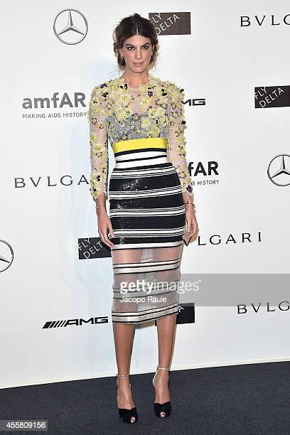 Bianca Brandolini D'adda attends amfAR Milano 2014 during Milan Fashion Week Womenswear Spring/Summer 2015 on September 20 2014 in Milan Italy