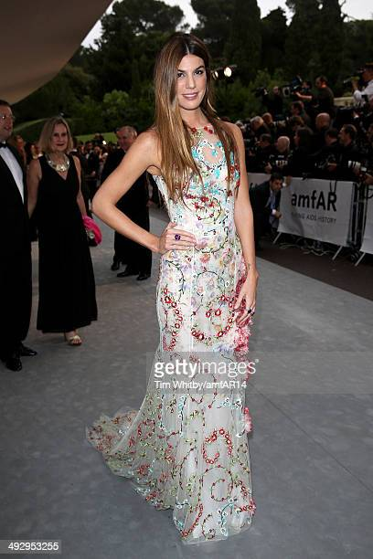 Bianca Brandolini D'Adda attends amfAR's 21st Cinema Against AIDS Gala Presented By WORLDVIEW BOLD FILMS And BVLGARI at Hotel du CapEdenRoc on May 22...