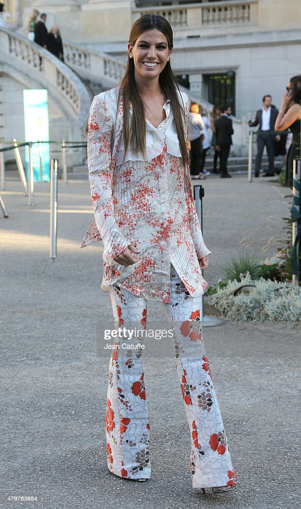 <a gi-track='captionPersonalityLinkClicked' href=/galleries/search?phrase=Bianca+Brandolini+d%27Adda&family=editorial&specificpeople=5507285 ng-click='$event.stopPropagation()'>Bianca Brandolini d'Adda</a> attends Giambattista Valli fashion show at the Grand Palais during Paris Fashion Week Haute Couture Fall/Winter 15/16 on July 6, 2015 in Paris, France.