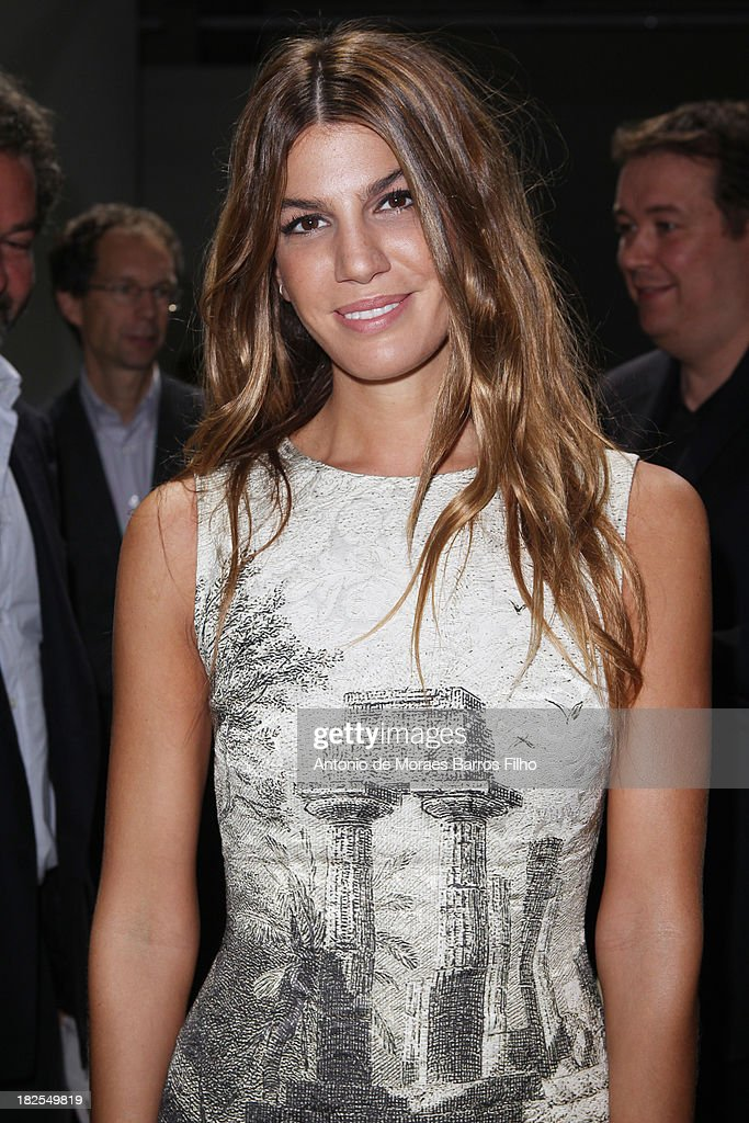 <a gi-track='captionPersonalityLinkClicked' href=/galleries/search?phrase=Bianca+Brandolini+d%27Adda&family=editorial&specificpeople=5507285 ng-click='$event.stopPropagation()'>Bianca Brandolini d'Adda</a> attends Giambattista Valli show as part of the Paris Fashion Week Womenswear Spring/Summer 2014 on September 30, 2013 in Paris, France.