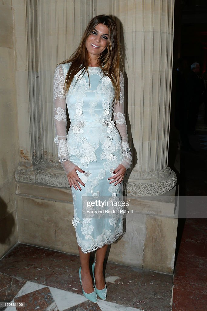 <a gi-track='captionPersonalityLinkClicked' href=/galleries/search?phrase=Bianca+Brandolini+d%27Adda&family=editorial&specificpeople=5507285 ng-click='$event.stopPropagation()'>Bianca Brandolini d'Adda</a> attends 'Liaisons Au Louvre III' Charity Gala Dinner Hosted by American International Friends of Le Louvre at Cour Carree du Louvre on June 18, 2013 in Paris, France.