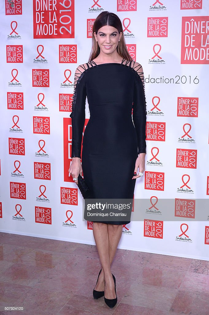<a gi-track='captionPersonalityLinkClicked' href=/galleries/search?phrase=Bianca+Brandolini+d%27Adda&family=editorial&specificpeople=5507285 ng-click='$event.stopPropagation()'>Bianca Brandolini d'Adda</a> attends the Sidaction Gala Dinner 2016 as part of Paris Fashion Week on January 28, 2016 in Paris, France.