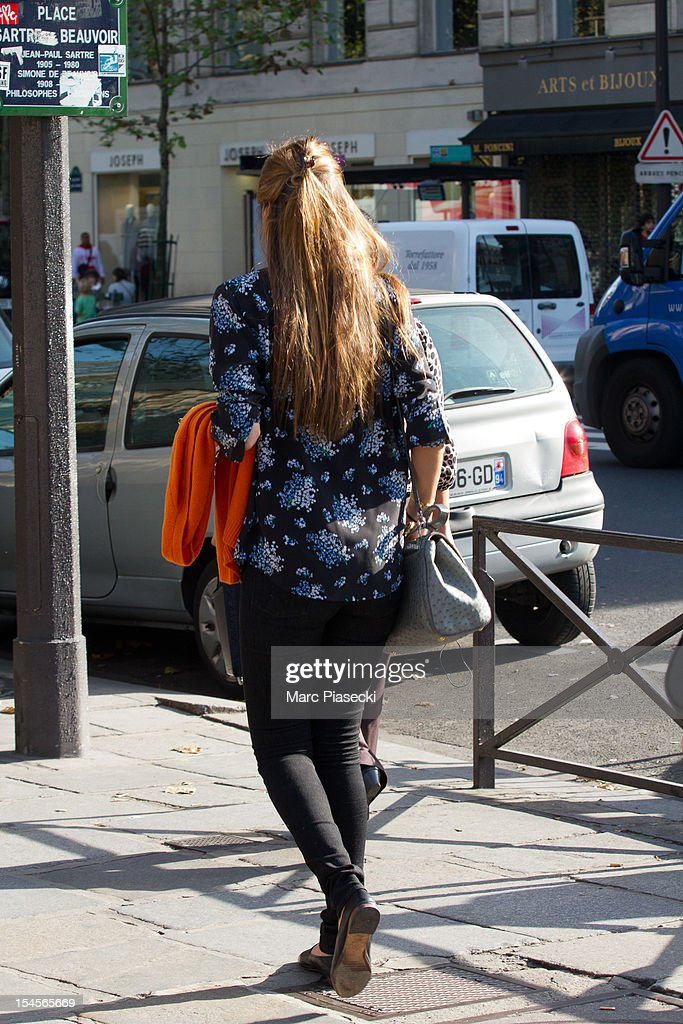 <a gi-track='captionPersonalityLinkClicked' href=/galleries/search?phrase=Bianca+Brandolini+d%27Adda&family=editorial&specificpeople=5507285 ng-click='$event.stopPropagation()'>Bianca Brandolini d'Adda</a> is seen in the 'Saint Germain des Pres' area on October 22, 2012 in Paris, France.