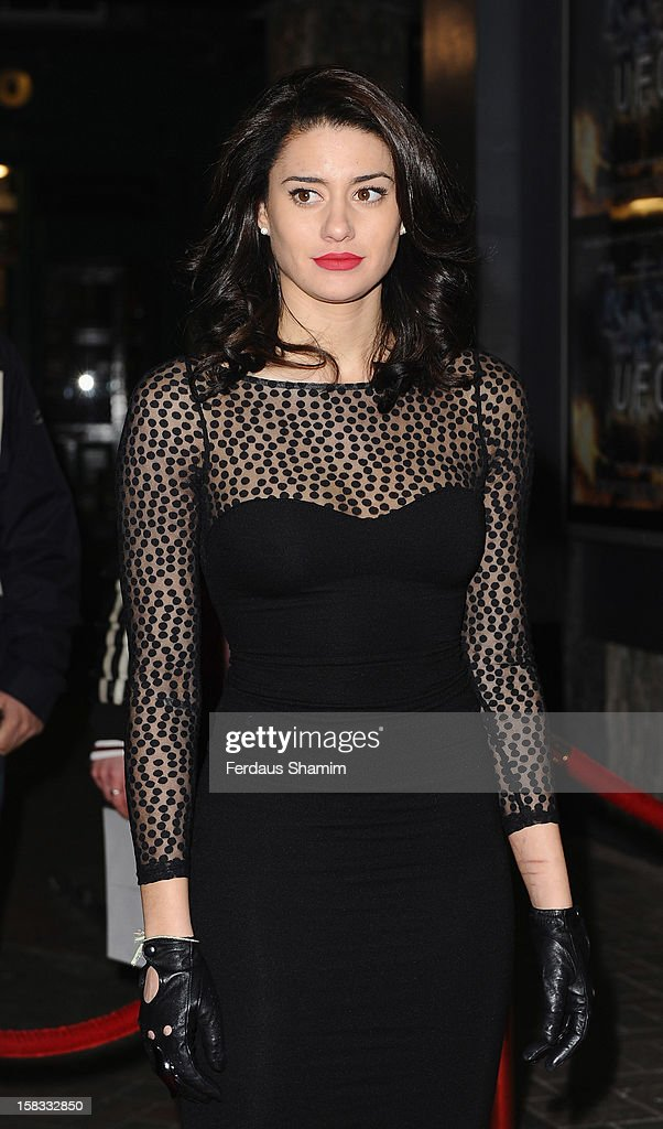 Bianca Bree attends the UK Premiere of 'UFO' on December 13, 2012 in London, England.