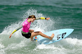 Bianca Buitendag of South Africa surfs during the Final of the Oi Rio Pro on May 17 2015 in Rio de Janeiro Brazil