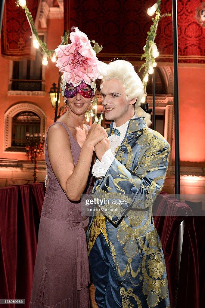 Bianca d'Aosta attends the 'Ballo in Maschera' to Celebrate Dolce&Gabbana Alta Moda at Palazzo Pisani Moretta on July 6, 2013 in Venice, Italy.