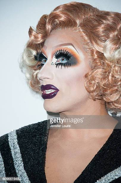 Bianca Del Rio arrives at the Premiere of Wolfe Releasing's 'Hurricane Bianca' at The Renberg Theatre on September 21 2016 in Los Angeles California