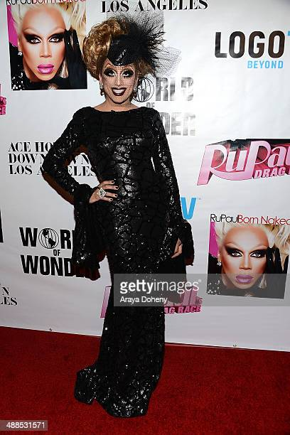 Bianca Del Rio attends Logo TV's 'RuPaul's Drag Race' season 6 reunion taping at The Theatre at Ace Hotel Downtown LA on May 6 2014 in Los Angeles...