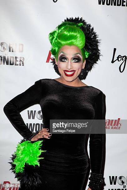 Bianca Del Rio attends 'RuPaul's Drag Race' Season 7 Finale And Coronation at Stage48 on June 1 2015 in New York City