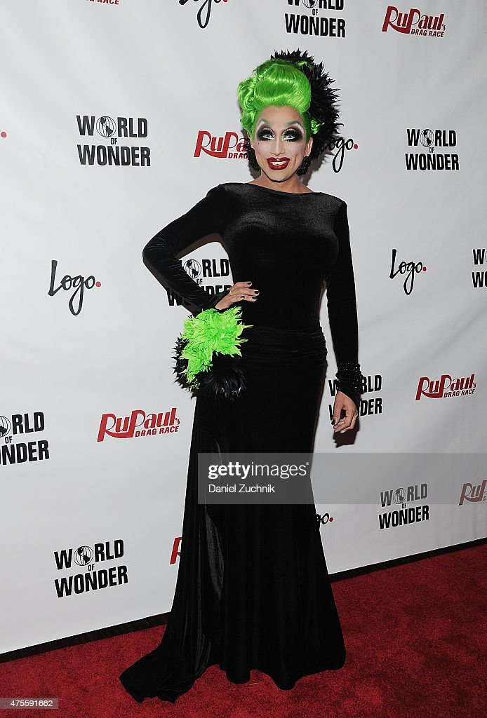 Bianca Del Rio attends 'RuPaul's Drag Race' Season 7 Finale And Coronation on June 1 2015 in New York City
