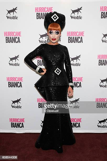 Bianca Del Rio attends the 'Hurricane Bianca' New York Premiere at DGA Theater on September 19 2016 in New York City