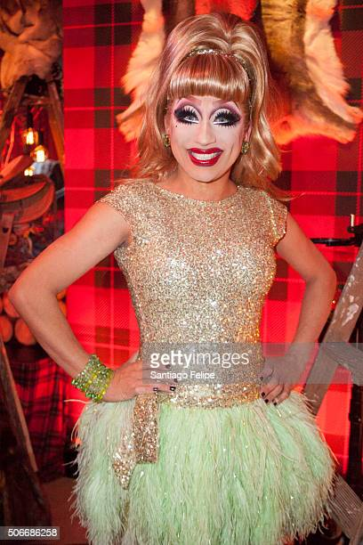Bianca Del Rio attends the Logo New Now Next Honors From Aspen Gay Ski Week on January 23 2016 in Aspen Colorado