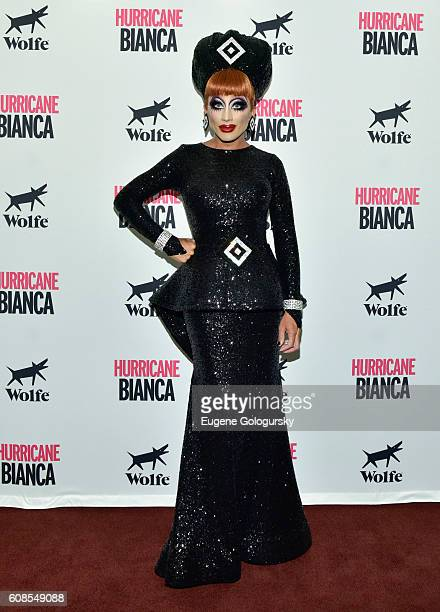 Bianca Del Rio attends the US Premiere Of HURRICANE BIANCA Starring Bianca Del Rio at DGA Theater on September 19 2016 in New York City