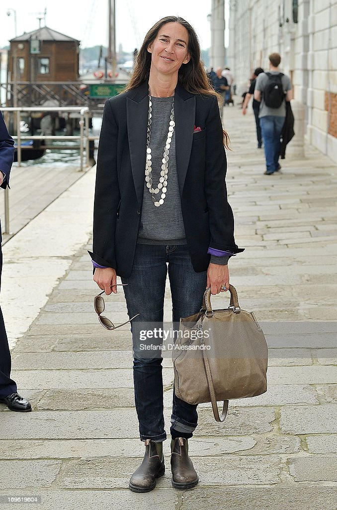 Bianca Di Savoia attends Prima Materia VIP Preview on May 29, 2013 in Venice, Italy.
