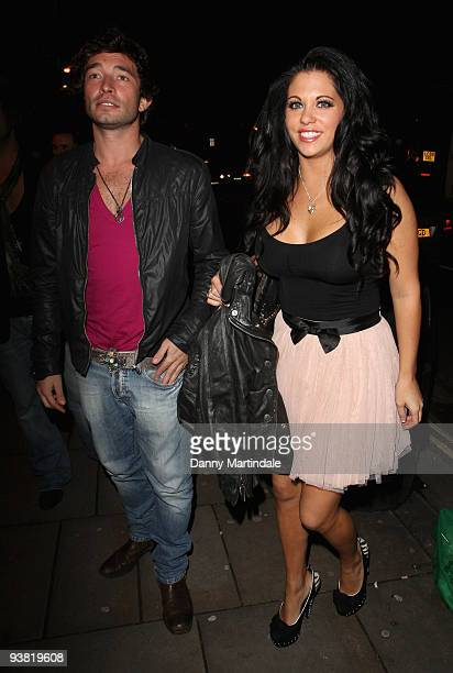 Bianca Gascoigne and a guest attend the launch party for season 6 of 'ITV At The Movies' on December 3 2009 in London England
