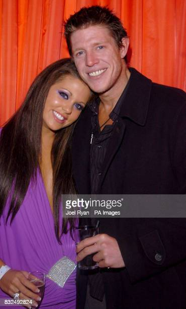 Bianca Gascoigne and Chris Brosnan arrive for the BT Digital Music Awards 2006 held at the Roundhouse in Camden north London