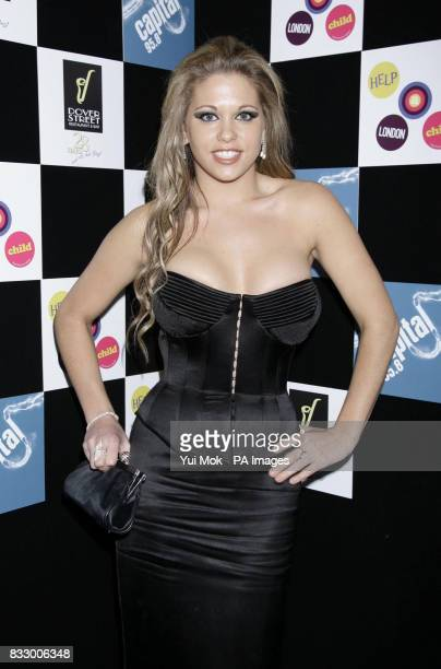 Bianca Gascoigne arrives at The Dover Street Dinner 2007 in aid of Capital FM's Help a London Child at the The Dover Street Restaurant in west London