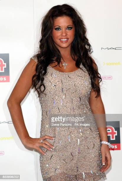 Bianca Gascoigne arrives for the Kickers Urban Music Awards 2007 at the New Connaught Rooms in Central London