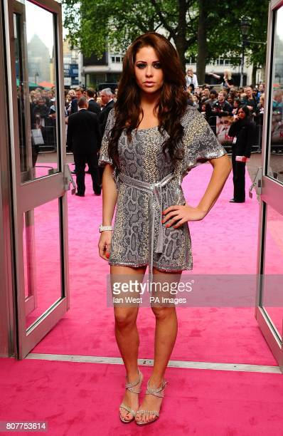 Bianca Gascoigne arriving for the UK Premiere of Killers at the Odeon West End Leicester Square London