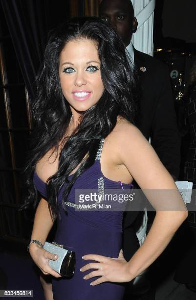 Bianca Gascoigne attends the afterparty for 'Confessions of a Shopaholic' at Aspreys on Bond Street on February 16 2009 in London England