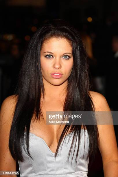 Bianca Gascoigne attends the UK premiere of 'The Damned Utd' at Vue West End on March 18 2009 in London England