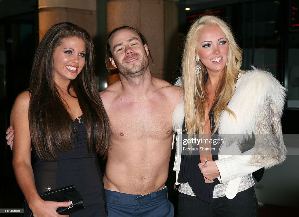 Bianca Gascoigne, Chris Pontius and Aisleyne Horgan Wallace