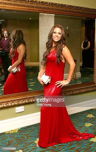 Bianca Gascoigne during 2006 Comfort Prima High Street Fashion Awards Inside Arrivals at London Hilton in London Great Britain