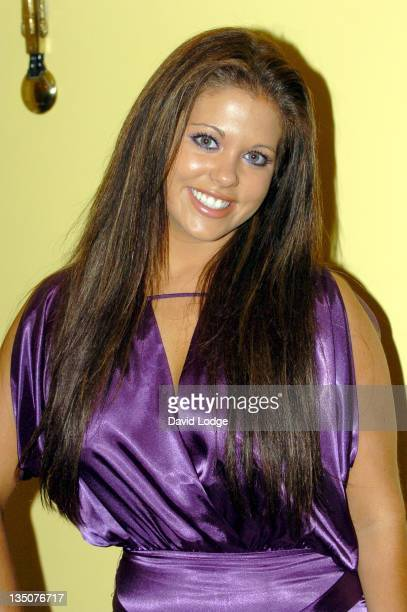 Bianca Gascoigne during 2006 MakeAWish Fashion Show Arrivals at Dorchester Hotel in London Great Britain