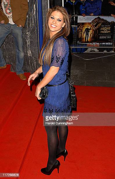 Bianca Gascoigne during Night at the Museum Charity Screening in London in London Great Britain