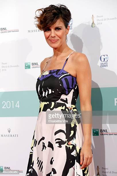 Bianca Guaccero attends the David Di Donatello Awards Ceremony at the Dear Studios on June 10 2014 in Rome Italy