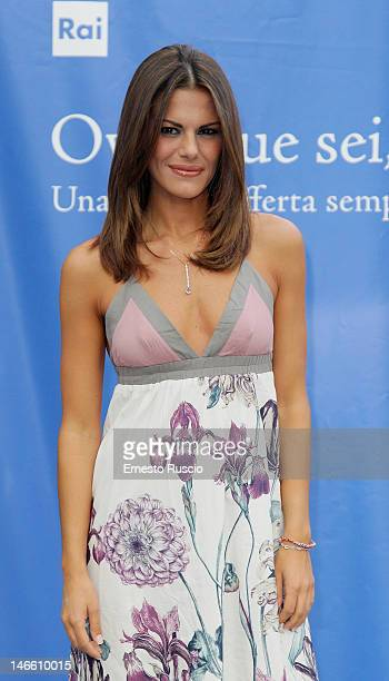 Bianca Guaccero attends the Palinsesti Rai photocall at Cavalieri Hilton Hotel on June 20 2012 in Rome Italy