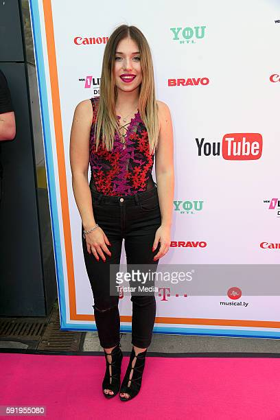 Bianca Heinicke attends the VideoDays 2016 at Lanxess Arena on August 19 2016 in Cologne Germany