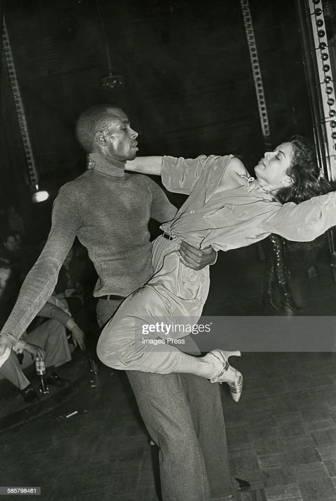 Bianca Jagger and Sterling St Jacques at Studio 54 circa 1978 in New York City