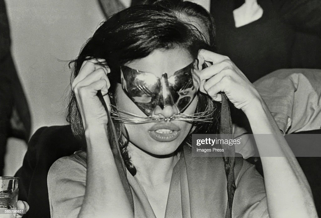 Bianca Jagger at Studio 54 circa 1978 in New York City