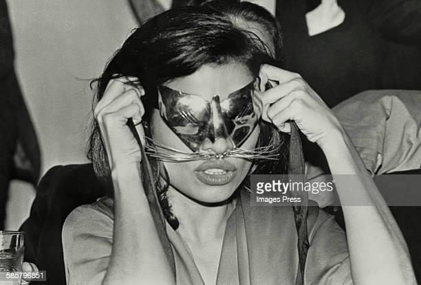 Bianca Jagger at Studio 54 circa 1978 in New York City