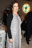 Bianca Jagger attends the Bianca Jagger Human Rights Foundation 'Arts for Human Rights' benefit gala auction at Phillips Gallery on October 14 2014...