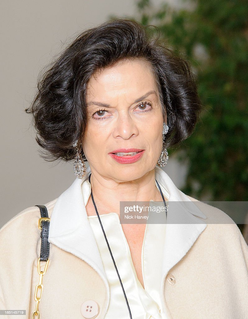 Bianca Jagger attends the book launch party for 'The Queen Of Four Kingdoms' by Princess Michael of Kent at The Orangery on October 17, 2013 in London, England.